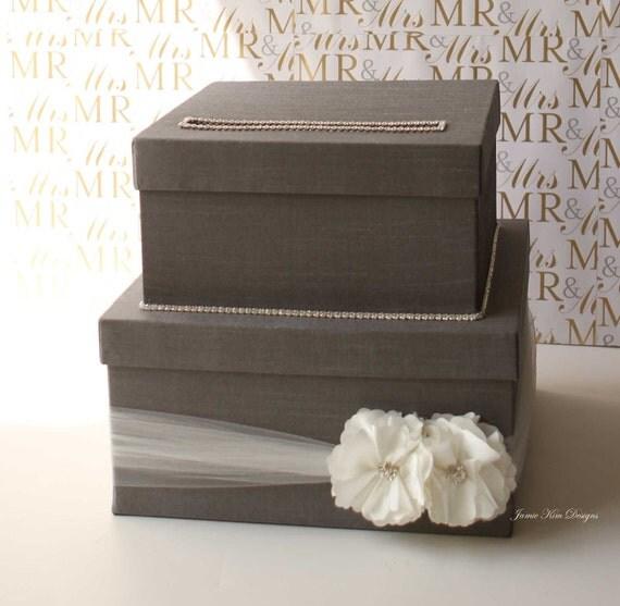 Wedding Card Box, Money Box Card Holder - Custom Card Box