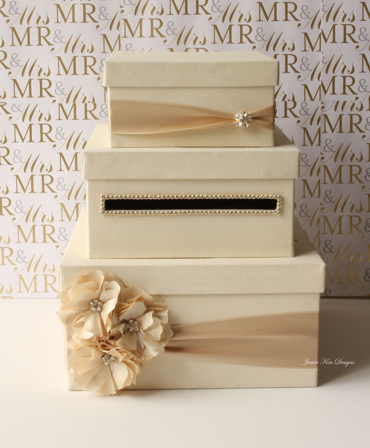 Wedding Gift Card Containers : Wedding Card Box Money Box Gift Card Holder choose your