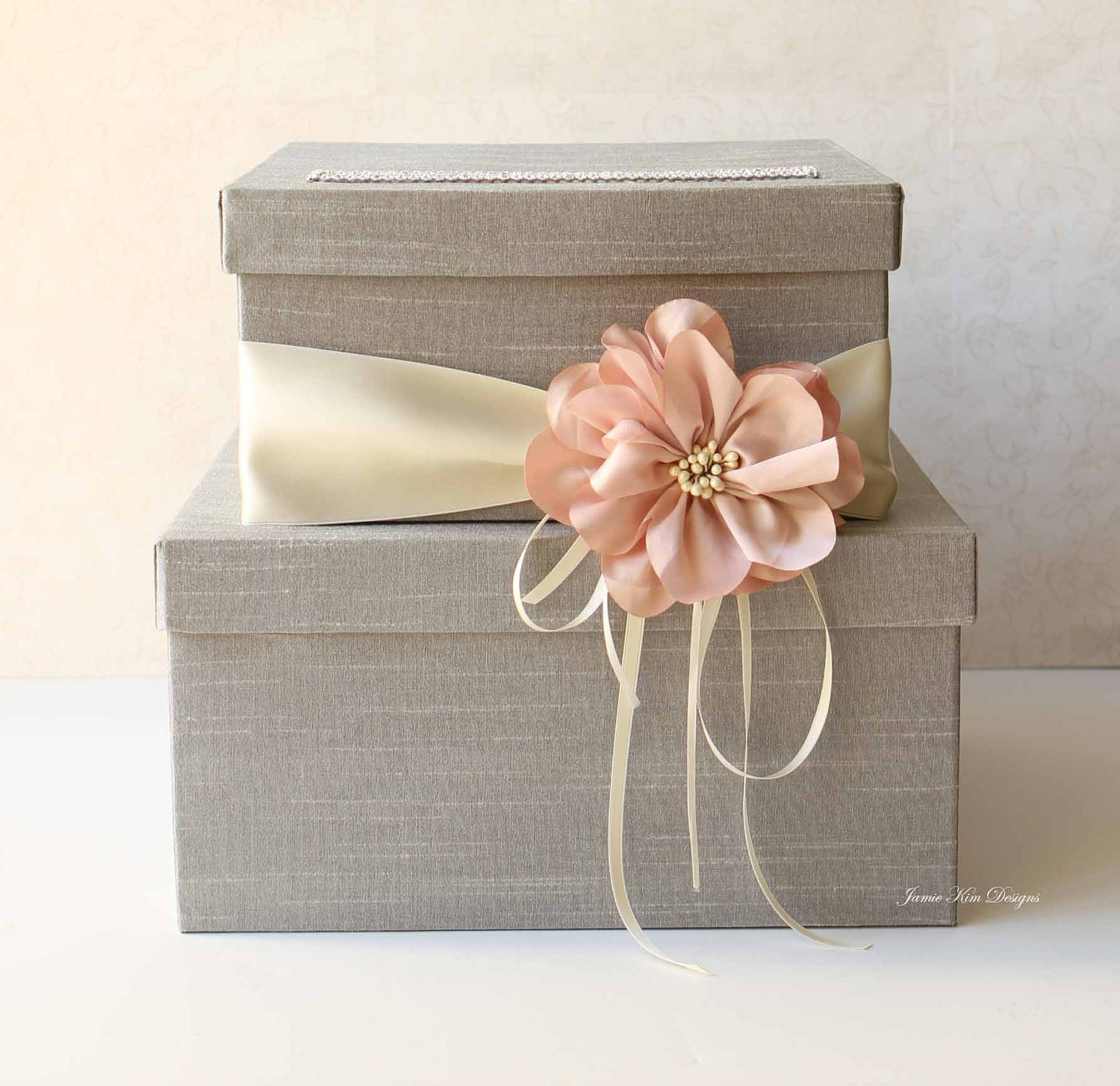 Wedding Gift Box Suggestions : Wedding Card Box Wedding Money Box Gift Card by jamiekimdesigns