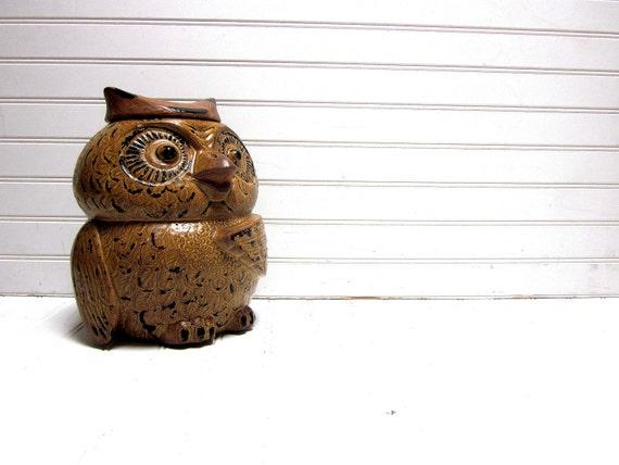 SALE McCoy Owl Cookie Jar