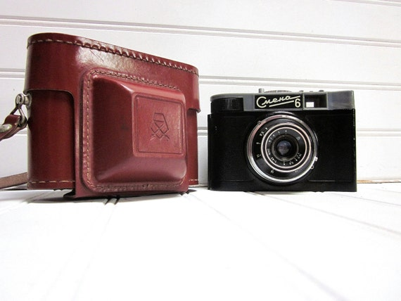 RESERVED for BETH Vintage Camera Cmena 8 Smena 8 Russian Lomography 35mm Camera