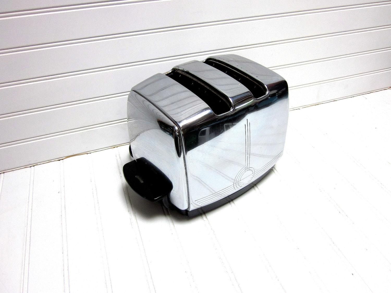 Vintage Toaster 1950s Sunbeam T 20 Automatic Chrome Toaster