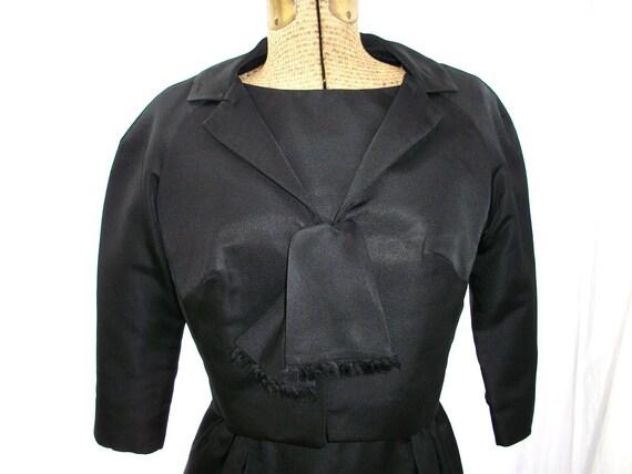 Vintage Little Black Dress and Jacket Set
