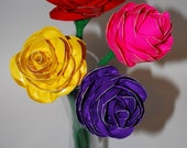 Duct Tape 4 Rose Bouquet