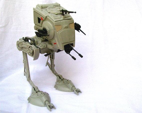 Original Star Wars Toys : Vintage star wars action figure scout walker original