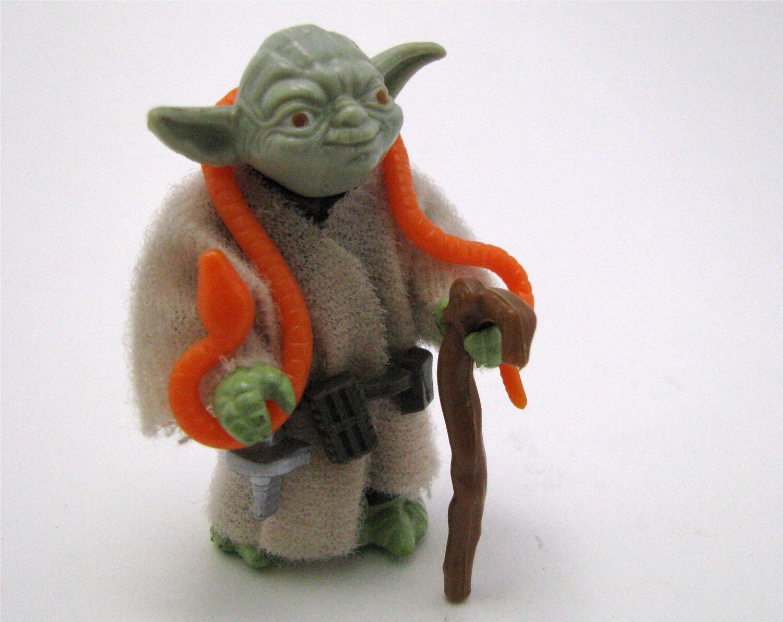 Star Wars Toys 1980s : Original star wars action figure yoda