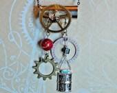 Steampunk 44 Special Necklace Watchgear