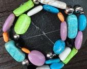 Southwestern Chunky Turquoise Necklace