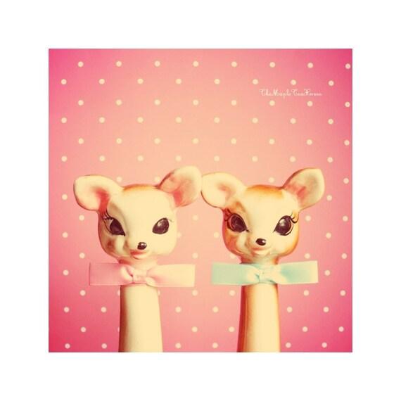 Love deers in Pink