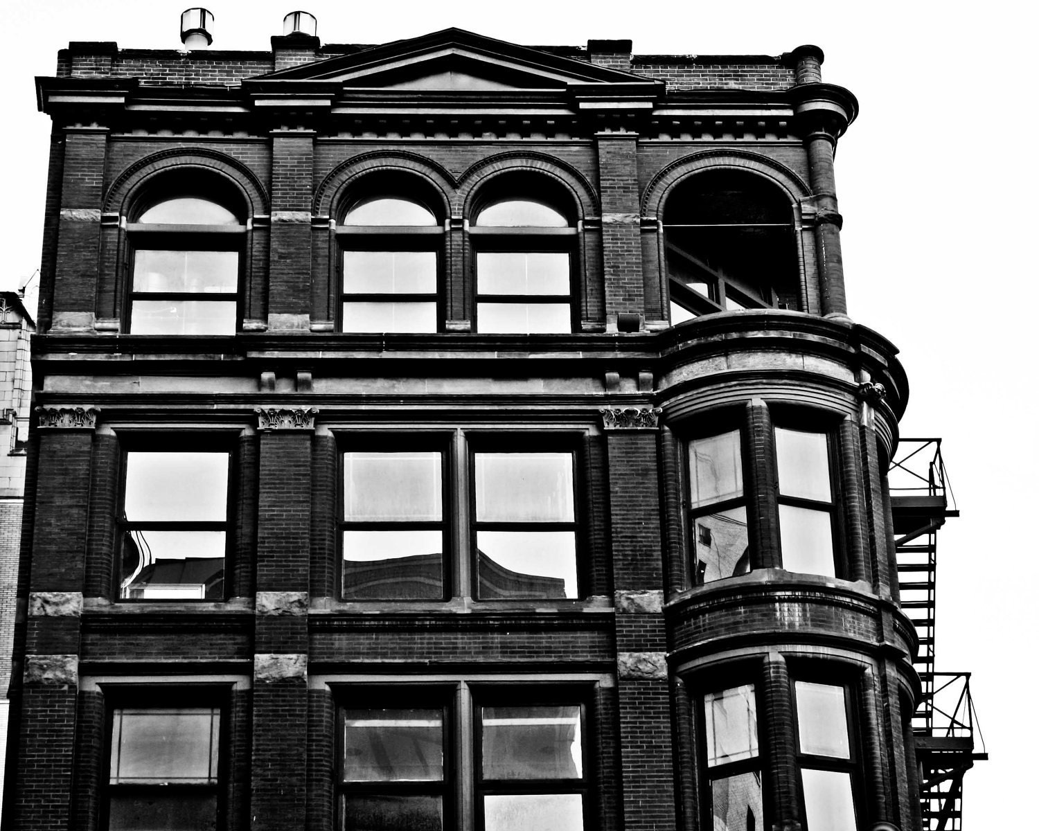 black and white apartment building clip art.  zoom Urban Photography Victorian Brick Apartment Building