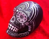 Hand Painted, One Of A Kind, Day of the Dead SKULL