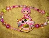 Lalaloopsy Jewels Sparkle decoden deco den Harajuku Kawaii Necklace