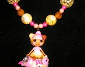 RESERVED RESERVED Lalaloopsy Scoops waffle cone ice cream harajuku star kawaii decoden deco den beaded necklace