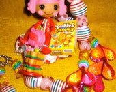 Reserved reserved Lalaloopsy Pot N Pepper snack rement re ment kawaii harajuku pillow deco den decden beaded necklace