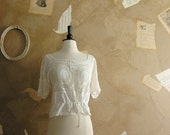 Vintage 1890s-1910 Light Hearted Blouse