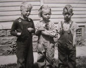 The REAL Little Rascals...Wonderful 1940's Vintage Photo