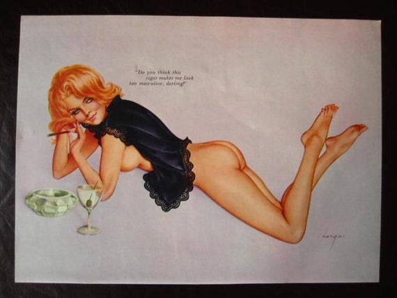 MATURE... Sexy VARGAS Girl... 1960's Playboy Magazine
