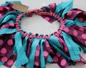 Polka dot pixie skirt: 0-6 months ready to ship