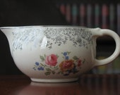 Vintage Taylor Smith & Taylor Creamer TST Pitcher with Feligree