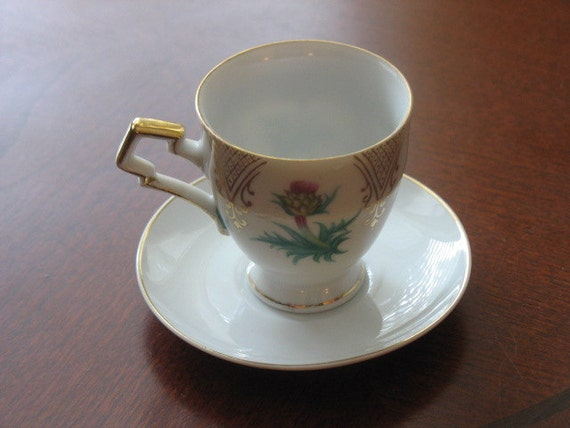 UCAGCO Demitasse Cup and Saucer, Made in Japan
