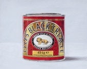 Lyle's Black Treacle. Limited edition giclée print.