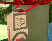 Gift Tag/Hang Tag/Price Tag/Then and Now/28 Count