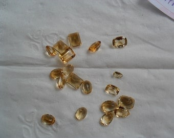 Destash / Citrine / 18 stones / 21.45ctw