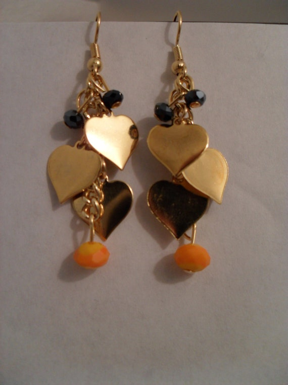 RESERVED / CTBNR Charming Hearts Earings