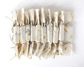 25 Custom Wedding Soap Favors. Autumn Wedding Favors. 100% Natural Vegan Handmade. Handmade Botanical Papers.