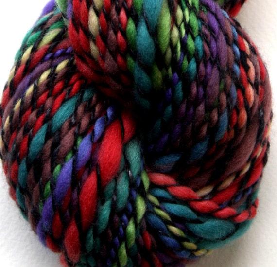 "Handspun yarn - ""Colour Wing"""