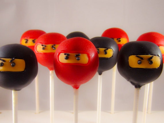 Reserved Listing for Melody - Ninja Cake Pops