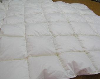 down filled cot duvet