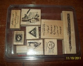 Letters From Friends Stampin Up Stamp Set
