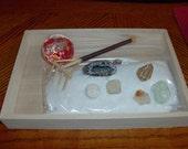 Custom Miniature Tabletop Zen Garden.