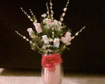 It's A Girl...Sock Rose Bouquet
