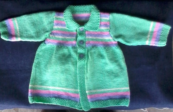 BARGAIN BUCKET - Baby girl cardigan - 4 to 6 months old