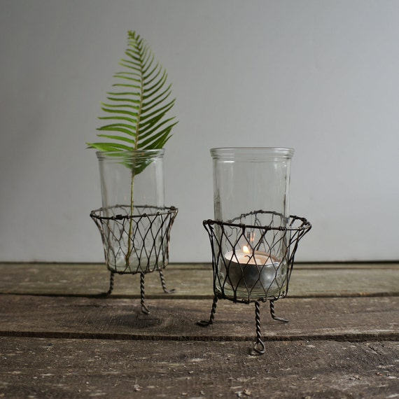 Bud Vase, Tea Light, Set of 2- Free Shipping