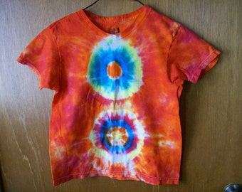 Childrens tye dyed Tshirt