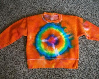 Childrens tye dyed sweatshirt