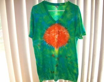 Adult tye dyed tshirt