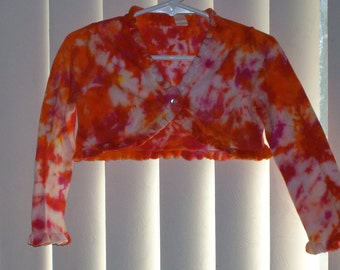 Girls tye dyed sweater