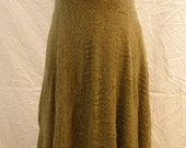 Custom Listing for Mika Hassan - Dress Olive Crotchet Lace Halter Gown