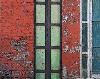 Fiddletown Windows - Photo Print
