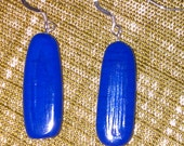 Earring hanging Murano glass in bright colours