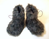Fur Baby Booties Faux Fur Baby Shoe Boots