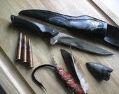 Dunkleosteus Fish Knife Fillet Knife