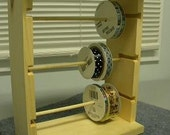 Ribbon rack organizer mini size space saver holds approx 40-50 spools
