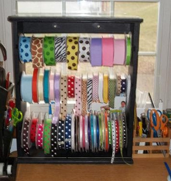 Discontinued Ribbon rack organizer multi spool for 4-5 and 7 inch spools price drop Only one