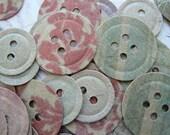 60 Designer Paper Buttons