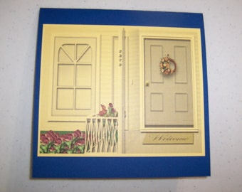 Handmade New Home Greeting Card